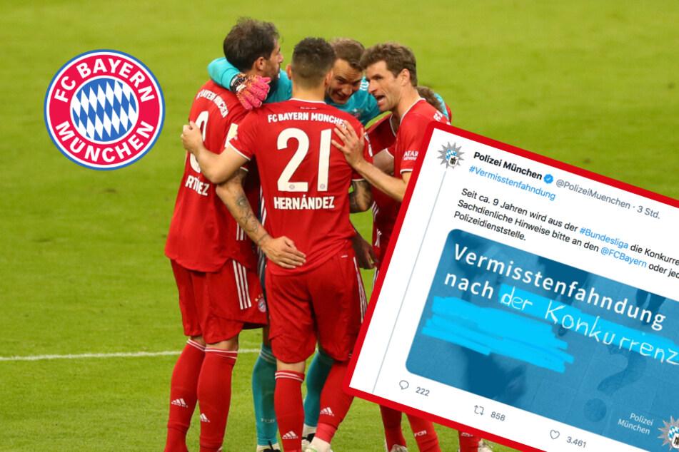 Polizei fahndet nach Bundesliga-Konkurrenz für FC Bayern München