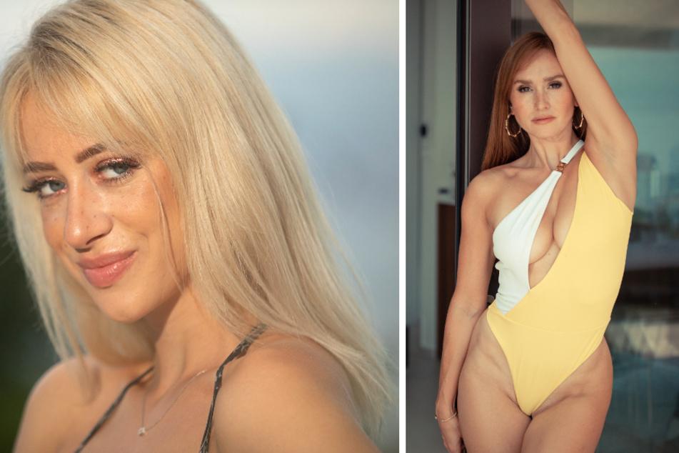 Julia (23, l.) und Lina (30).