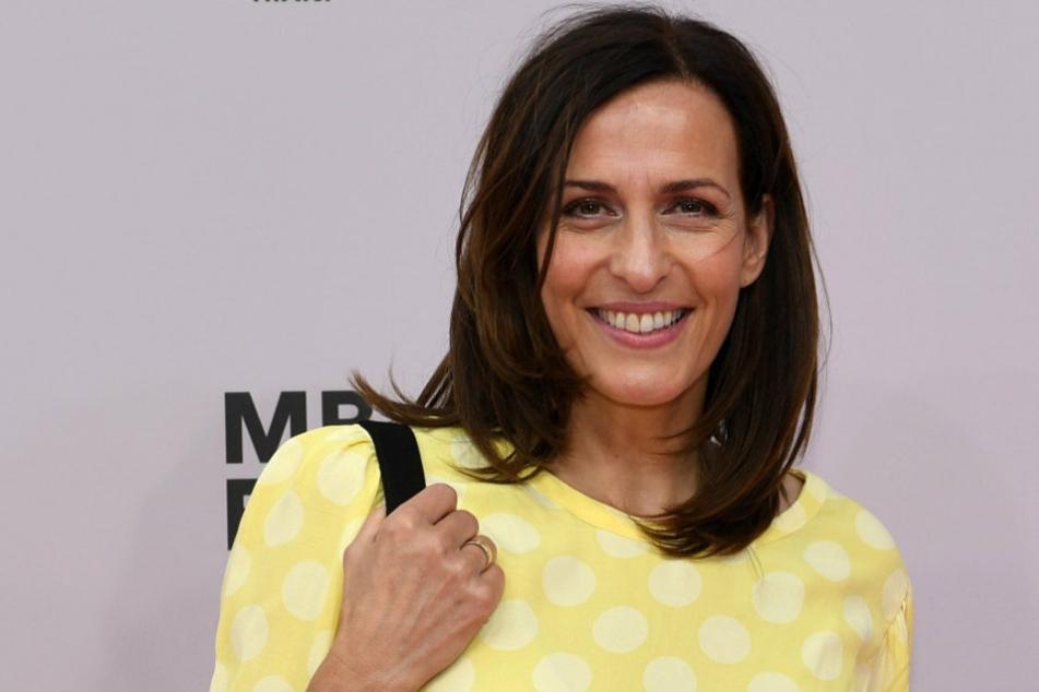 Ulrike Frank (51), Schauspielerin, kommt 2019 zu der Riani Show im E-Werk.