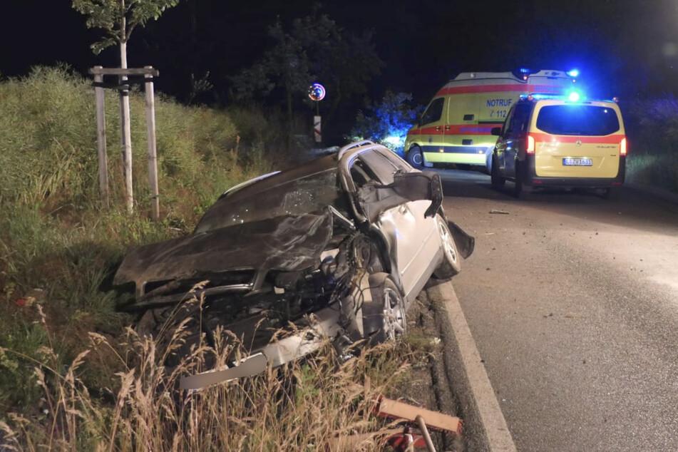 Am verunfallten Audi entstand ein Sachschaden von rund 10.000 Euro.