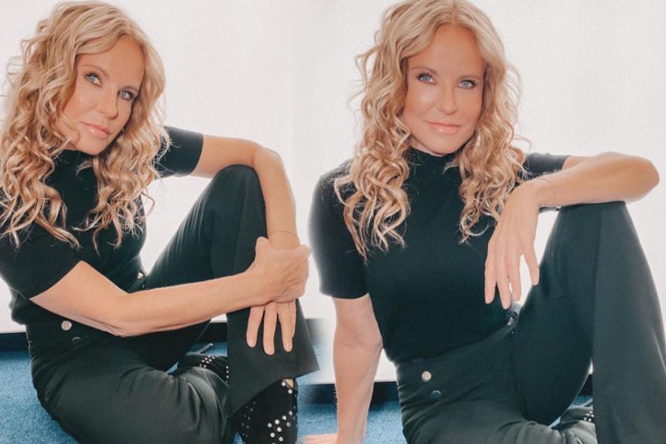 Katja Burkard in Sorge wegen Corona: Aber sie hat einen Life-Hack!