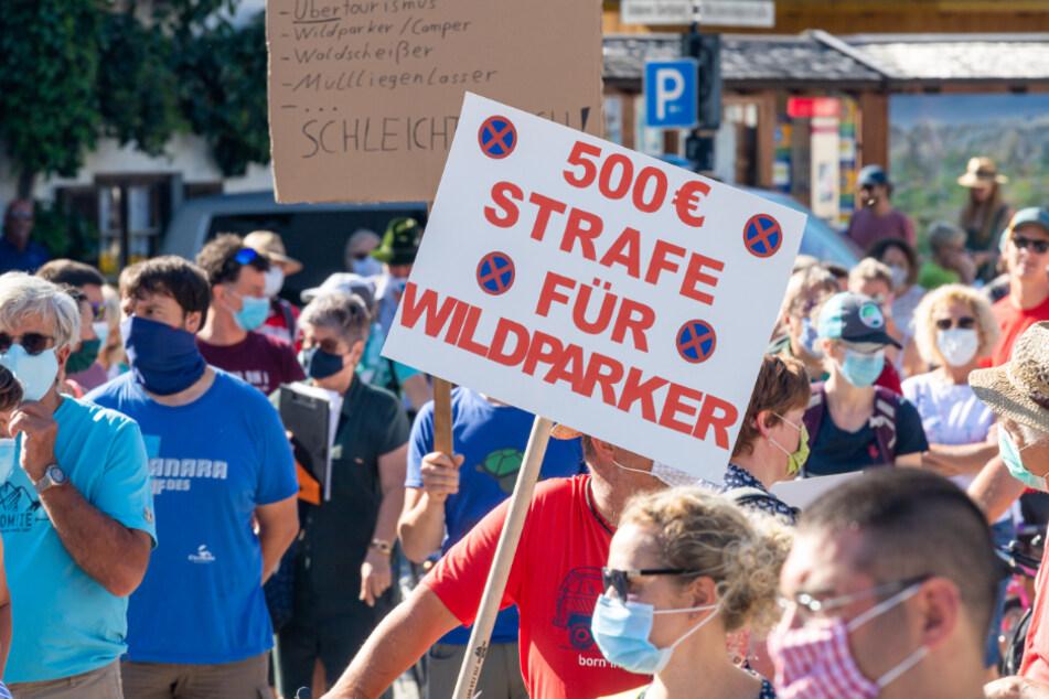 Stau, Gestank, Müll: Menschen der Zugspitz-Region haben die Schnauze voll!