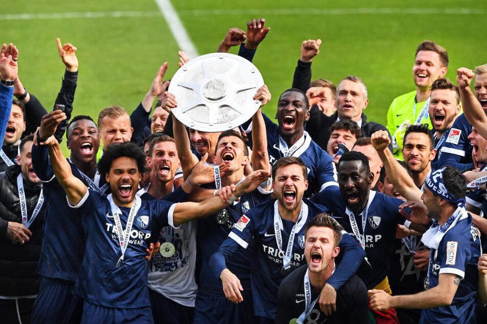 Erleichterung, Erlösung, pure Freude: Was dem VfL Bochum dieser Aufstieg bedeutet, ist den Spielern deutlich anzusehen.