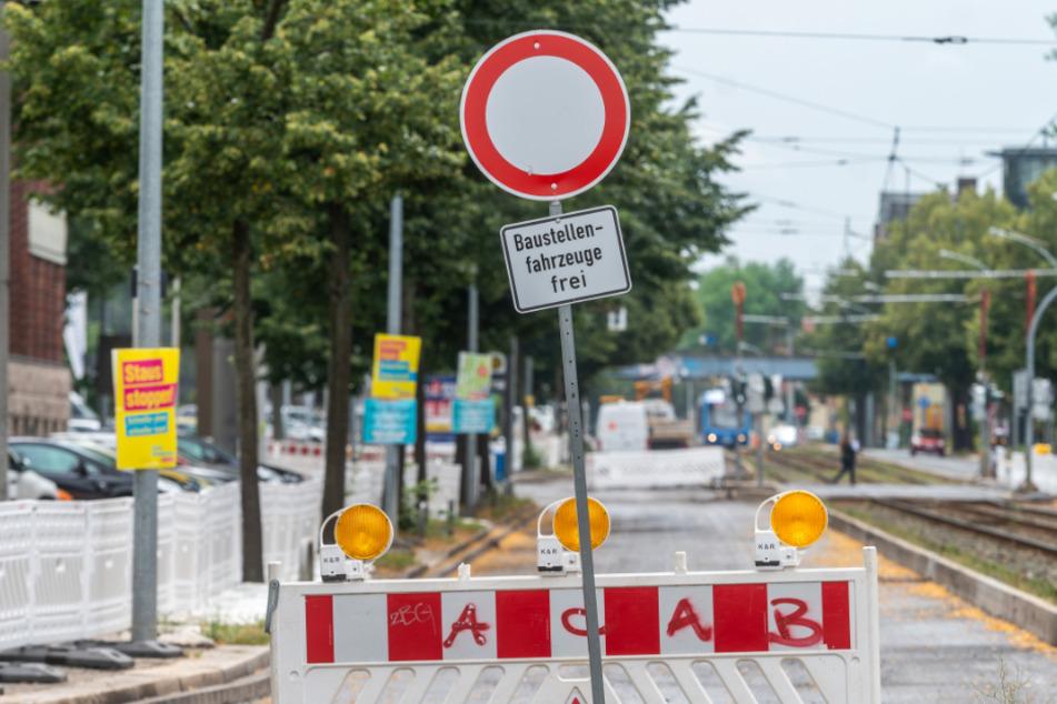 Baustellen Chemnitz: Chemnitz: B95 monatelang teilweise gesperrt
