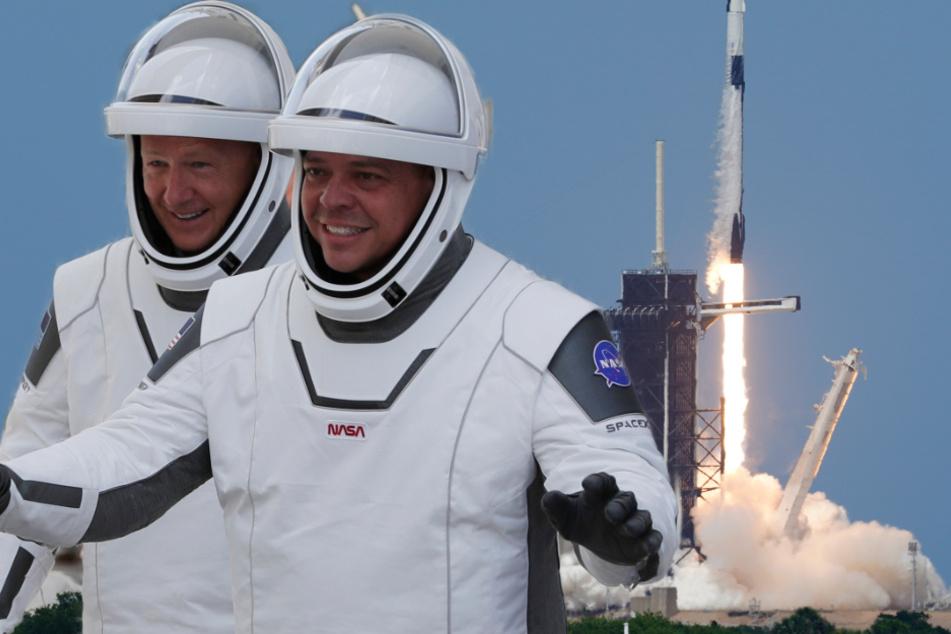 Erstes privates Unternehmen: SpaceX schießt Astronauten ins All