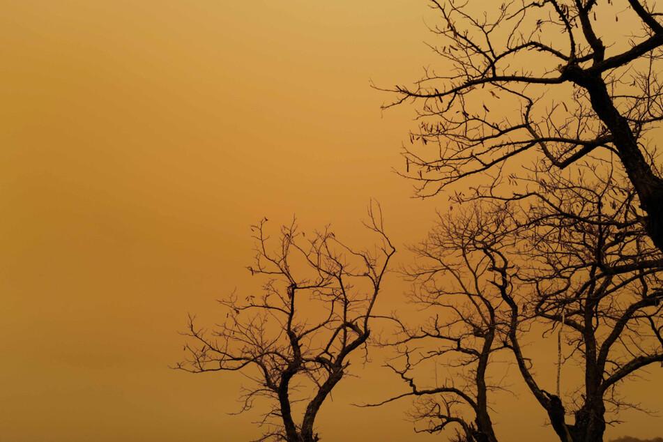 Gelb-rötlicher Himmel über München: Das ist der Grund für das Naturschauspiel