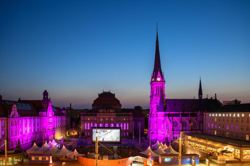 Ein Bild der Filmnächte Chemnitz. Dieses Jahr wird es zwar anders aussehen, doch Besuche sind möglich.