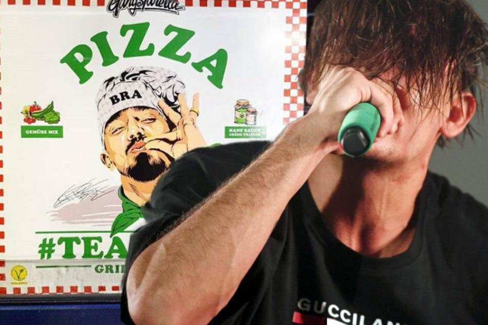 Capital Bra surft auf der Pizza-Überholspur