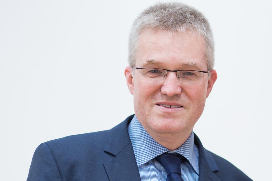 Vogts Herausforderer Pierre-Enric Steiger will mit seinem Konzept überzeugen.