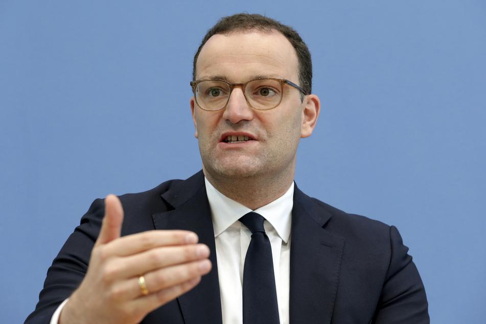 Jens Spahn (CDU), Gesundheitsminister.