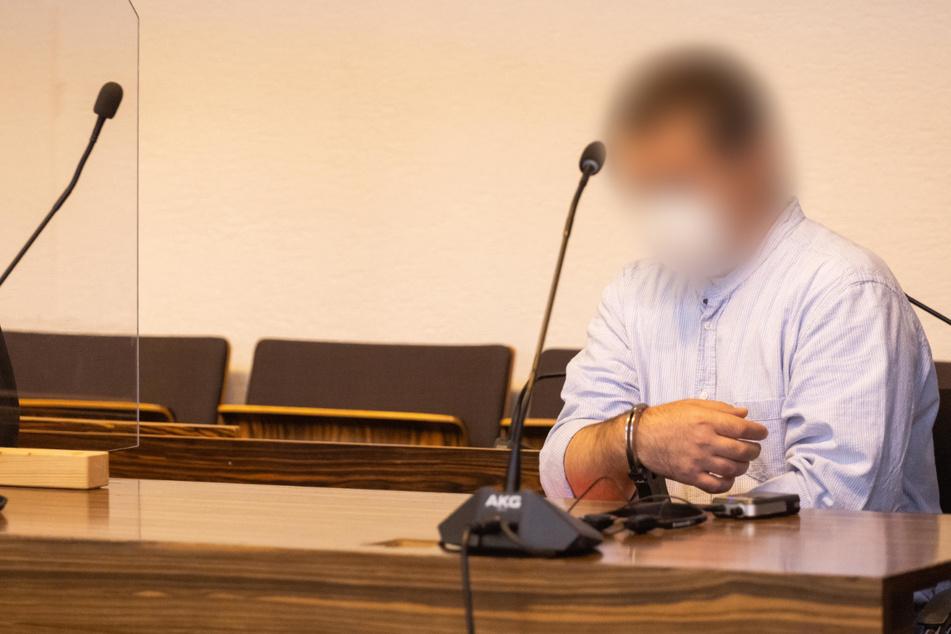 Der 44-Jährige Ende August im Gerichtssaal.