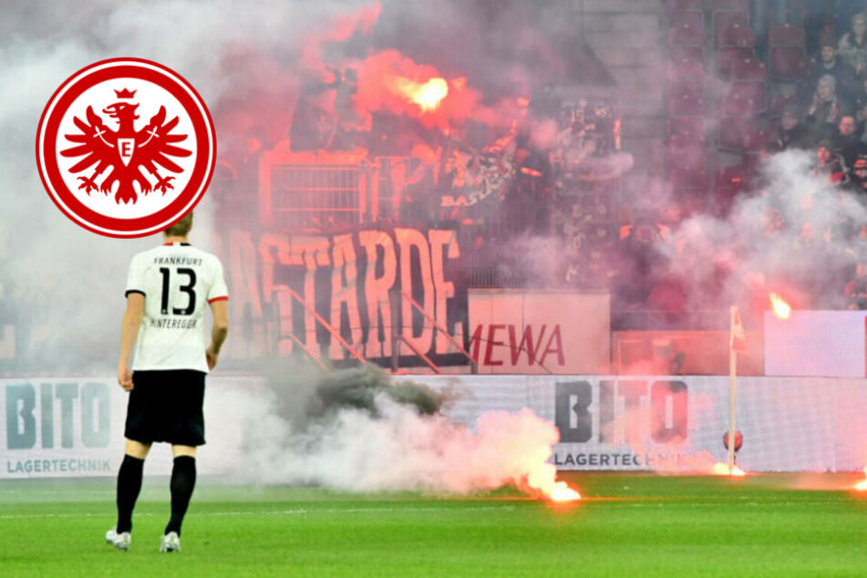 Pyro-Eklat der Fans beschert Eintracht Frankfurt saftige Strafe