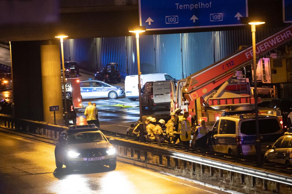 Der Iraker Sarmad A. (30) verursachte am vergangenen Dienstag gezielt mehrere Unfälle auf der Berliner Stadtautobahn.