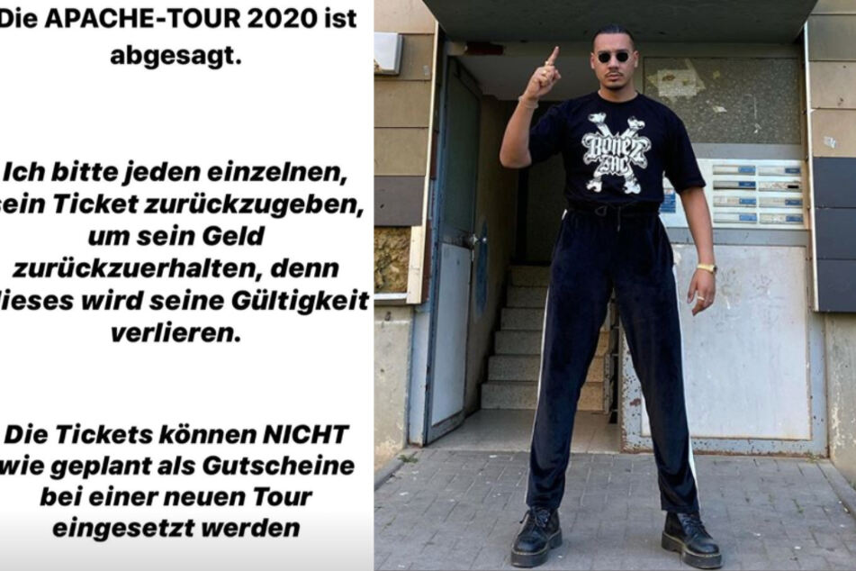 Apache muss Tour absagen, Ticket-Frust bei den Fans