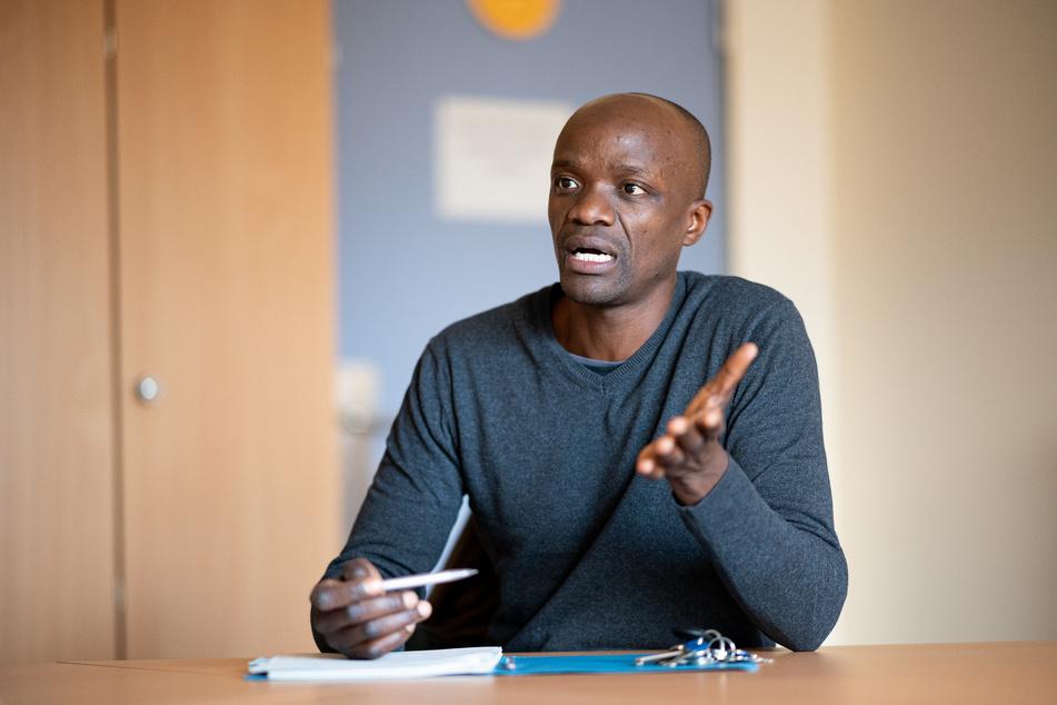 Philip Spenner (41), erster schwarzer Lehrer an Hamburgs Schulen, wünscht sich mehr Lehrer mit Migrationshintergrund.