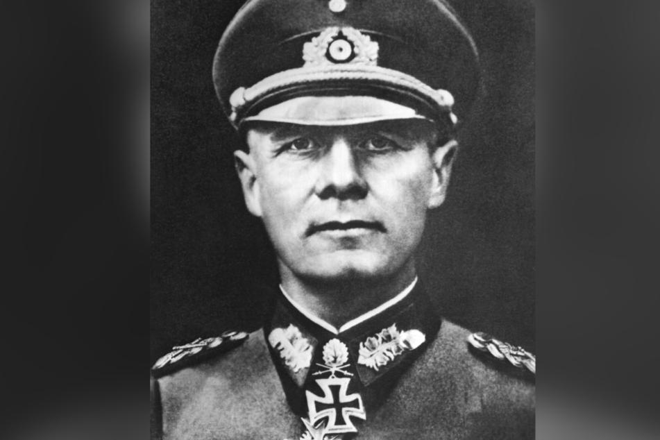 Generalfeldmarschall Erwin Rommel.