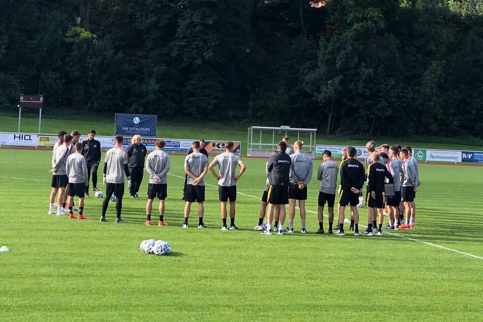 Am DOnnerstag geht's nach dem Training zurück nach Dresden.