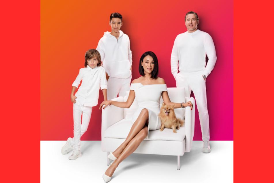 Die ganze Familie Pooth macht künftig Werbung für Sky.