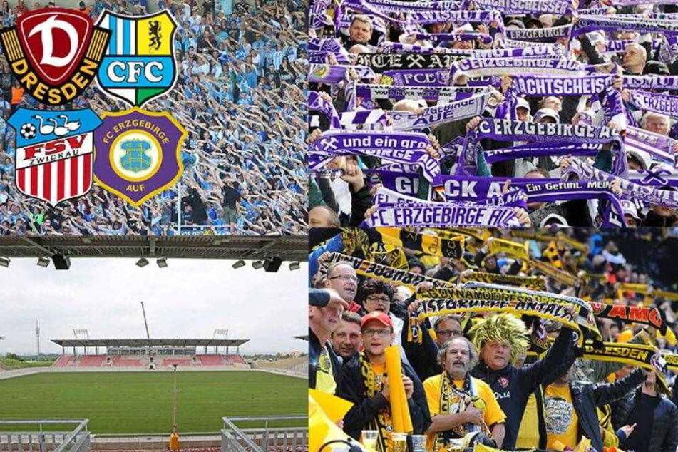 Das müssen die Fans in Sachsens Stadien zahlen