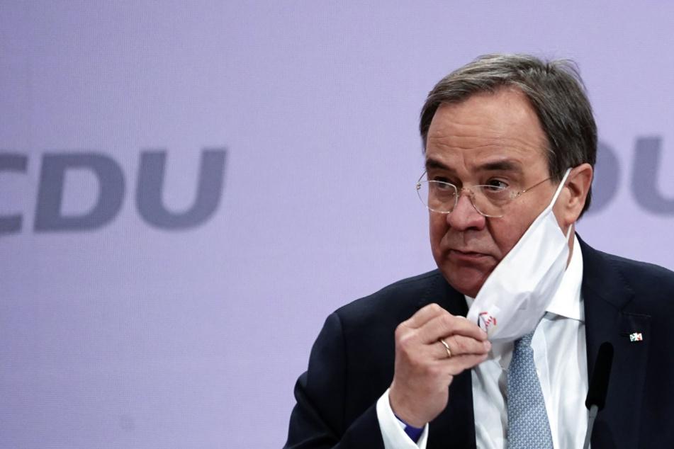 CDU-Vorsitzender Armin Laschet hält sich in Frage der Kanzlerkandidatur bedeckt
