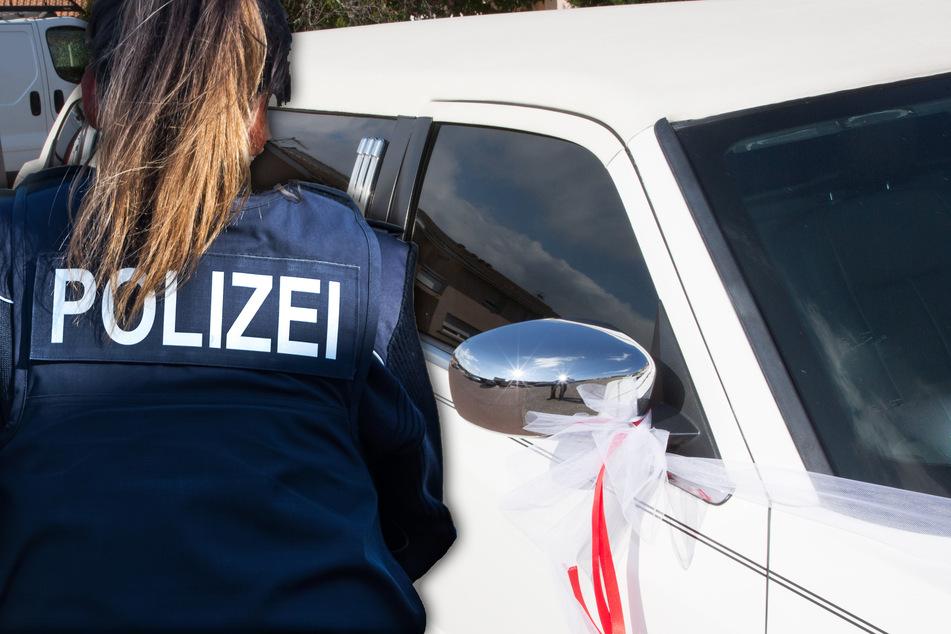 Die Polizei stoppte die Verkehrsrüpel am Ortseingang von Bad Homburg und leiteten Strafverfahren ein. (Symbolfoto)