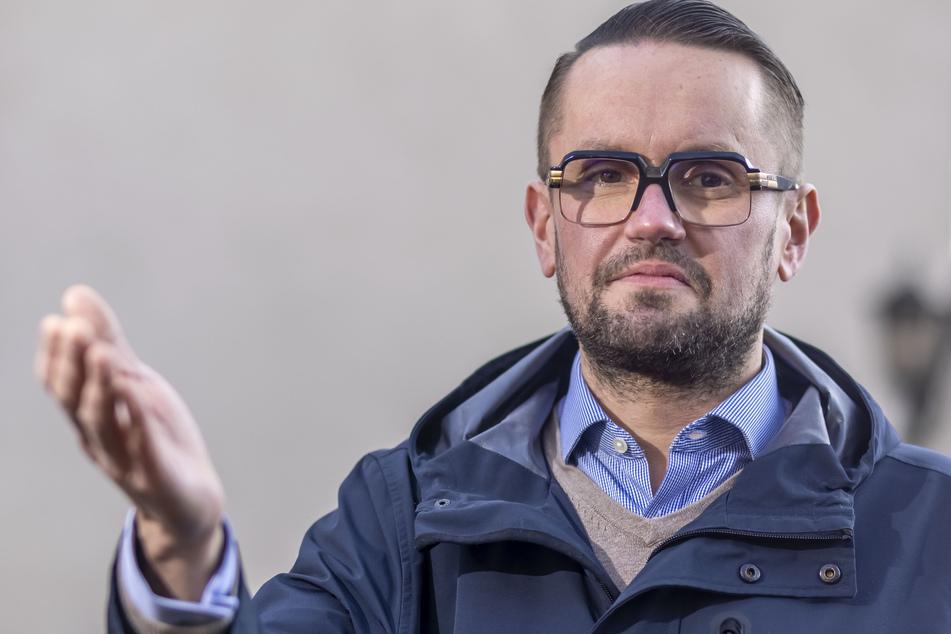 Andreas Marschner (40, CDU) setzte mit seiner Fraktion den neuen Rhythmus für die Gelbe Tonne im Stadtrat durch.