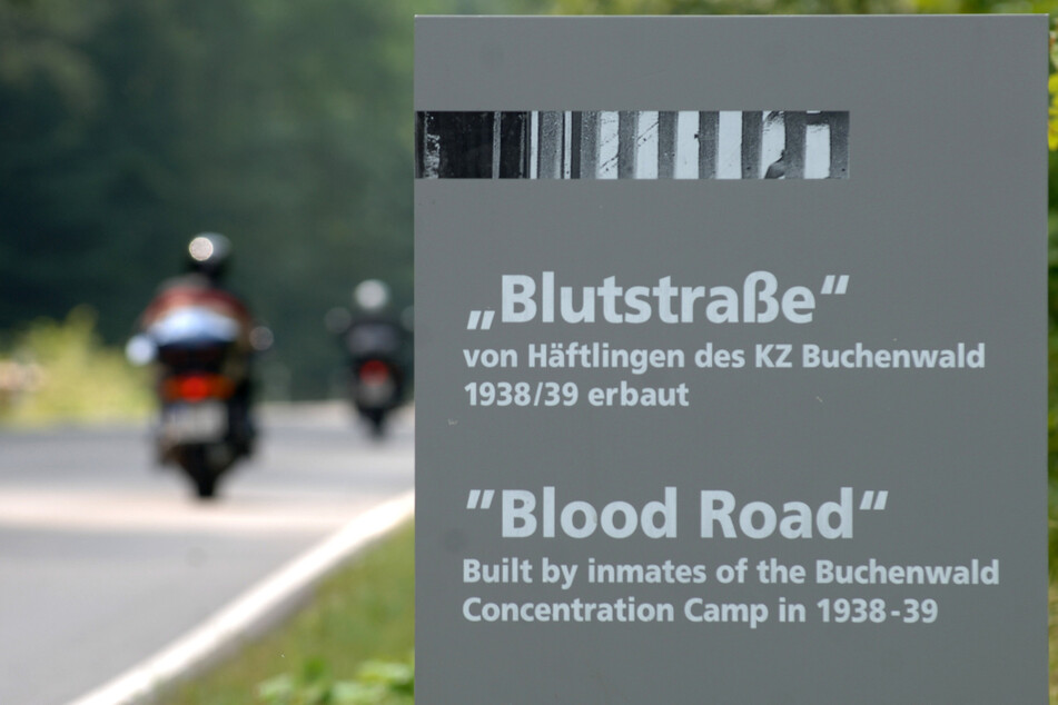 """Radrennen soll auf der """"Blutstraße"""" der KZ-Gedenkstätte Buchenwald stattfinden"""