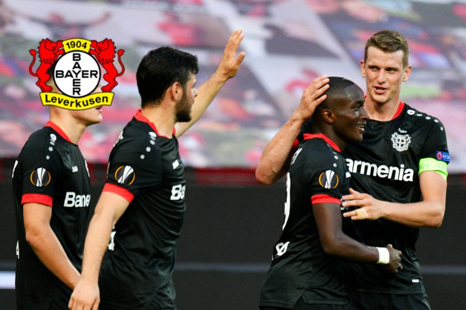 Leverkusen lässt gegen Glasgow nichts anbrennen und erreicht Europa-League-Viertelfinale!