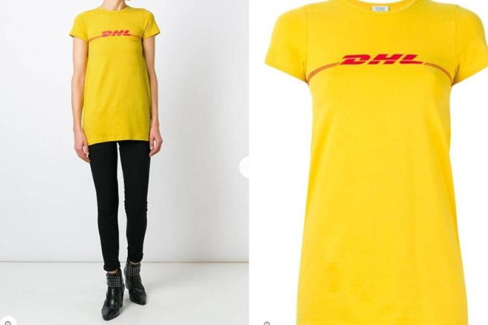 DHL-Shirt kostet 445 Euro und es ist der Renner