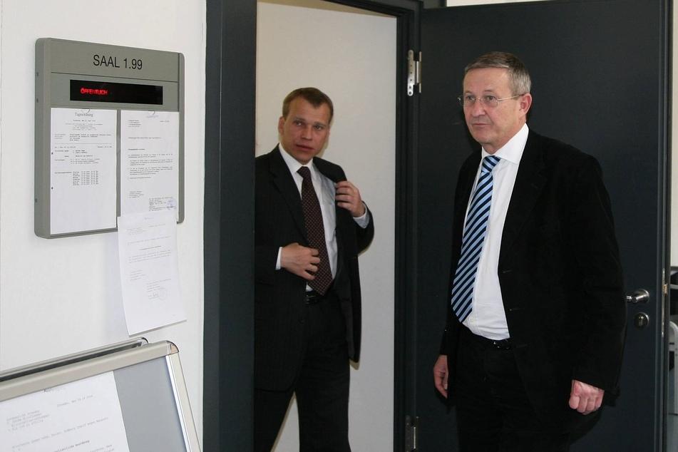 Im Fluthilfe-Prozess 2006 vertrat der Anwalt Ex-OB Ingolf Roßberg.