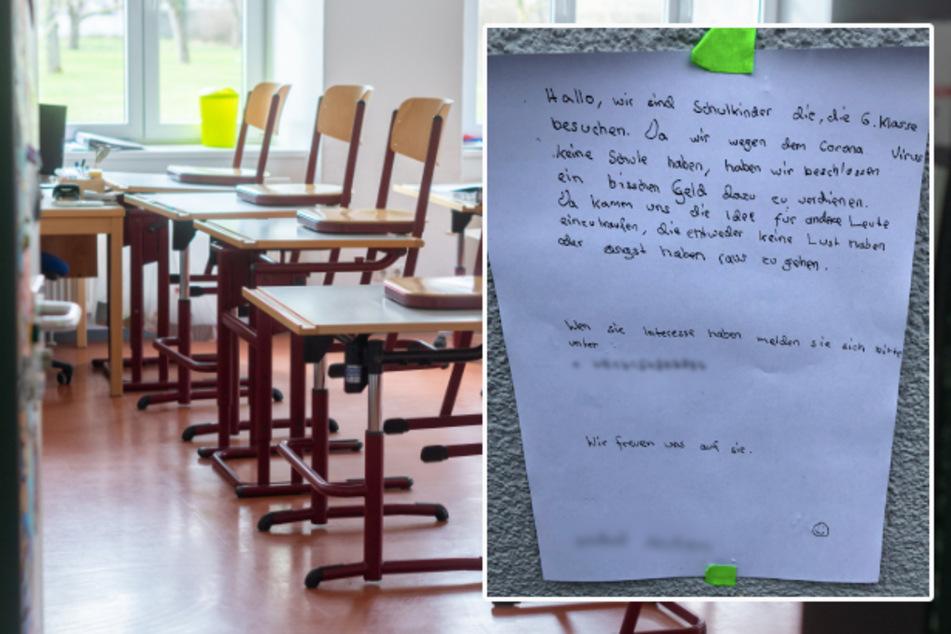 """München: Not macht erfinderisch? Sechstklässler wollen mit Coronavirus """"dazu verdienen"""""""