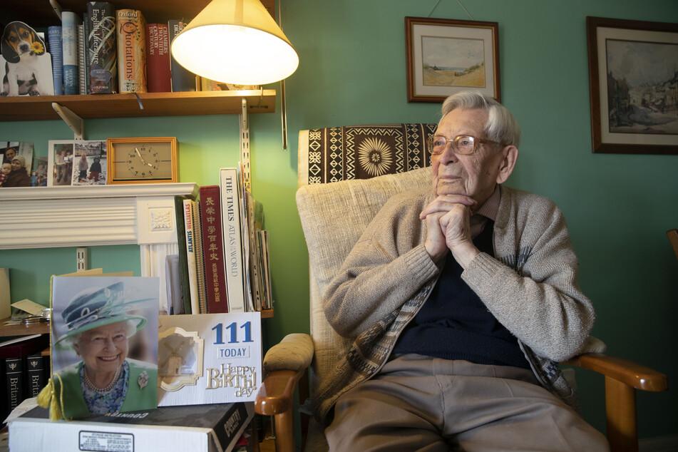 Bob Weighton zu seinem 111. Geburtstag.