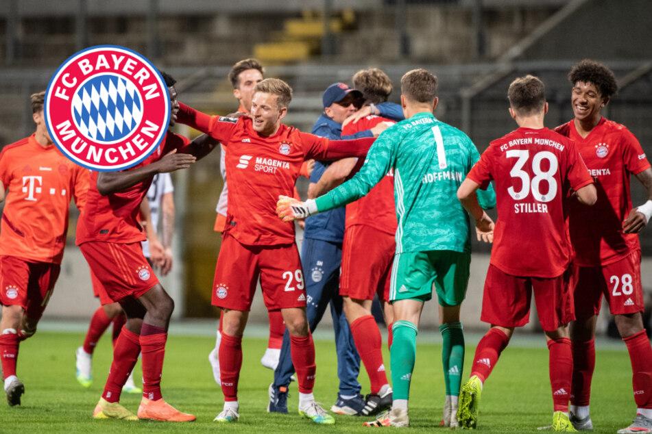 Bayern-Bubis sind Meister: Amateure sorgen für Novum in 3. Liga