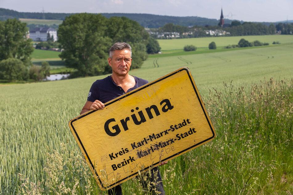 Lutz Neubert (49, Freie Wählervereinigung), Ortsvorsteher von Grüna, steht hinter seinen Einwohnern und will sich zur Not wieder von Chemnitz abkoppeln.
