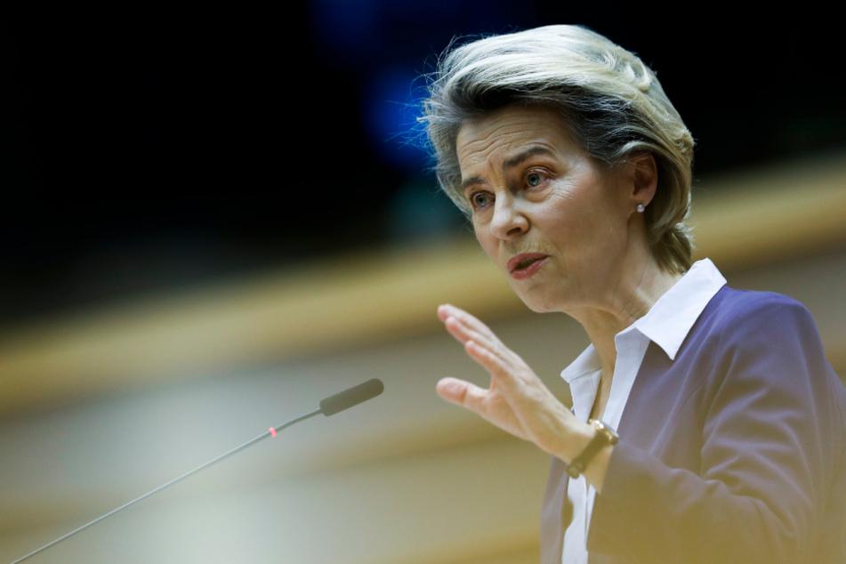 Ursula von der Leyen gesteht Versäumnisse bei Impfstoff-Beschaffung ein