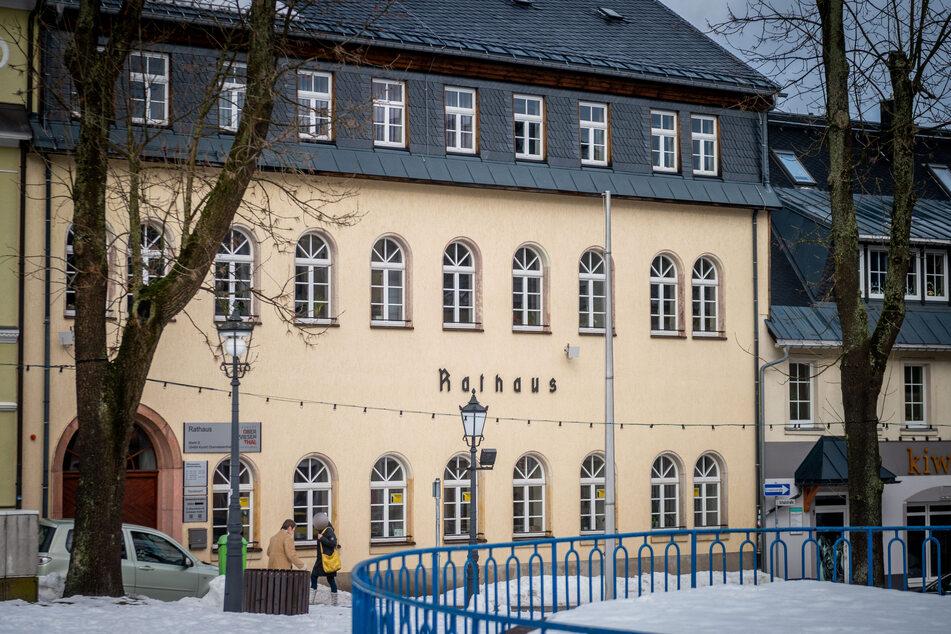 Im Rathaus von Oberwiesenthal war Veranstalter Nöske in der Vergangenheit nicht gern gesehen.