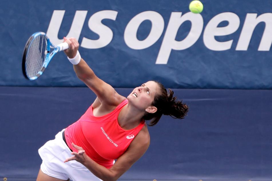 Julia Görges bei den US-Open.