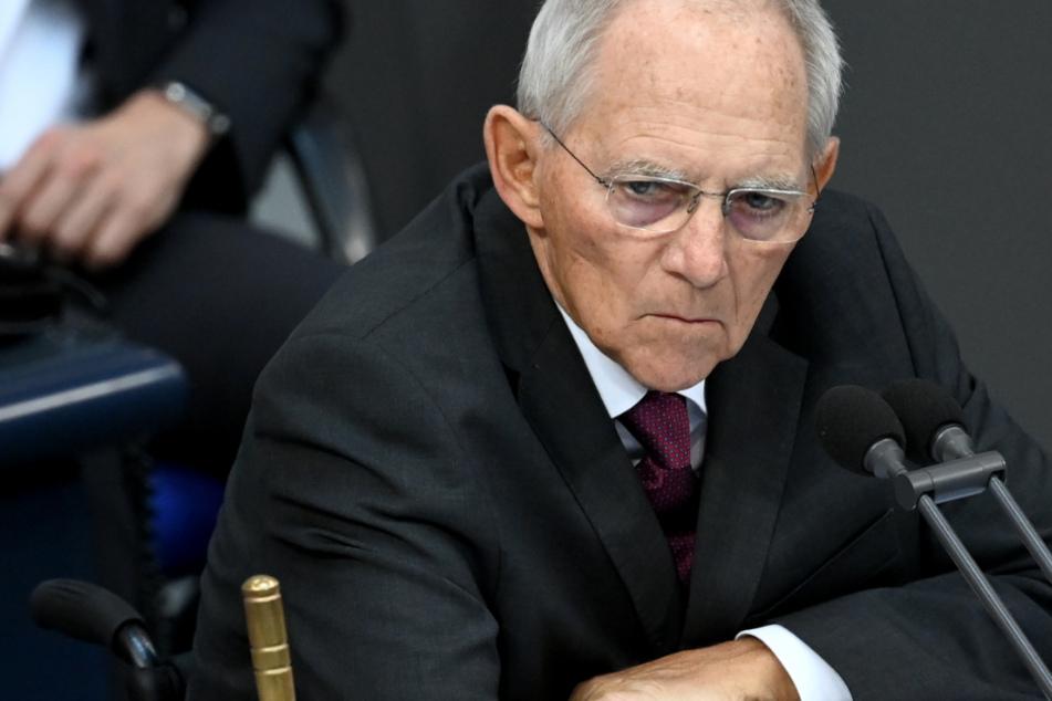 Bundestagspräsident: Wolfgang Schäuble (78, CDU).