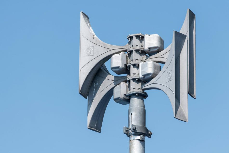 So sehen moderne Dach-Sirenen zur Gefahrenwarnung heute aus.