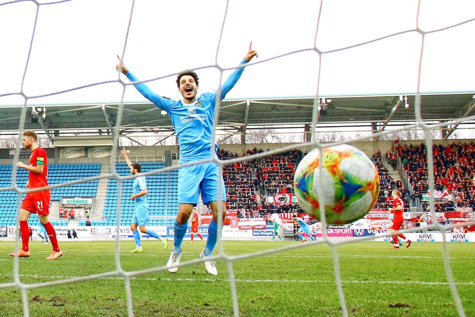 Philipp Hosiner schoss in der Vorsaison 19 Tore für Chemnitz. Am Montag unterschrieb er bei Dynamo.