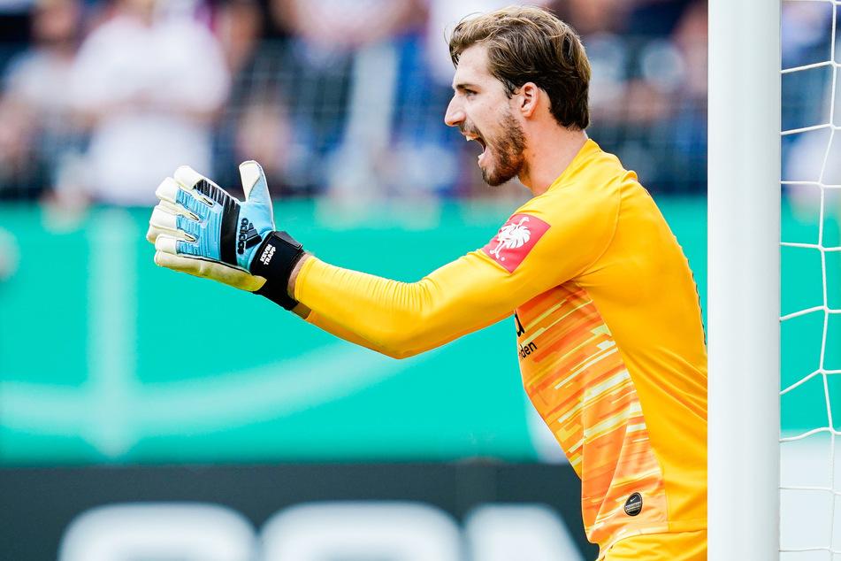 Will auch in den nächsten Jahren das Tor der Eintracht hüten: Nationaltorhüter Kevin Trapp (30).