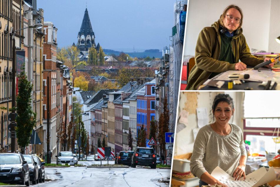 Immer mehr Künstler zieht's auf den Sonnenberg: Chemnitz' Kreativ-Viertel boomt