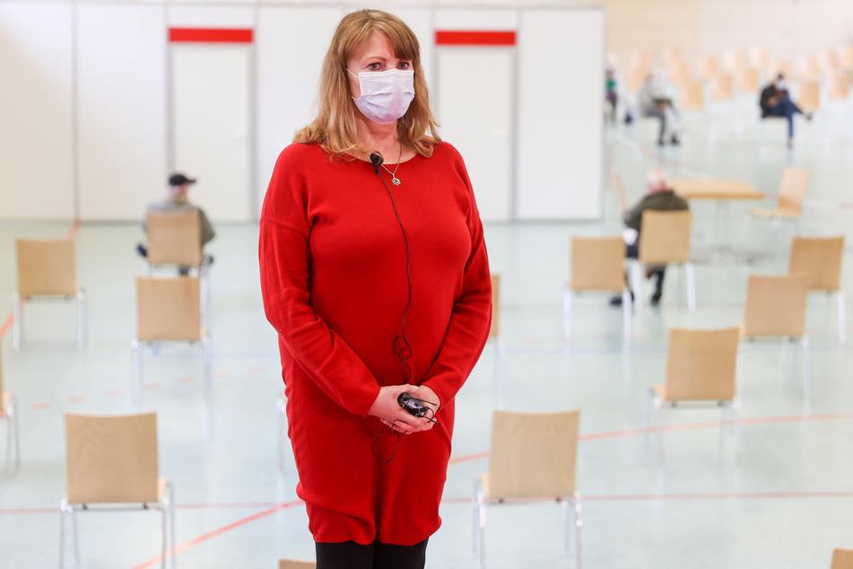 Sachsens Gesundheitsministerin Petra Köpping (SPD, 62).