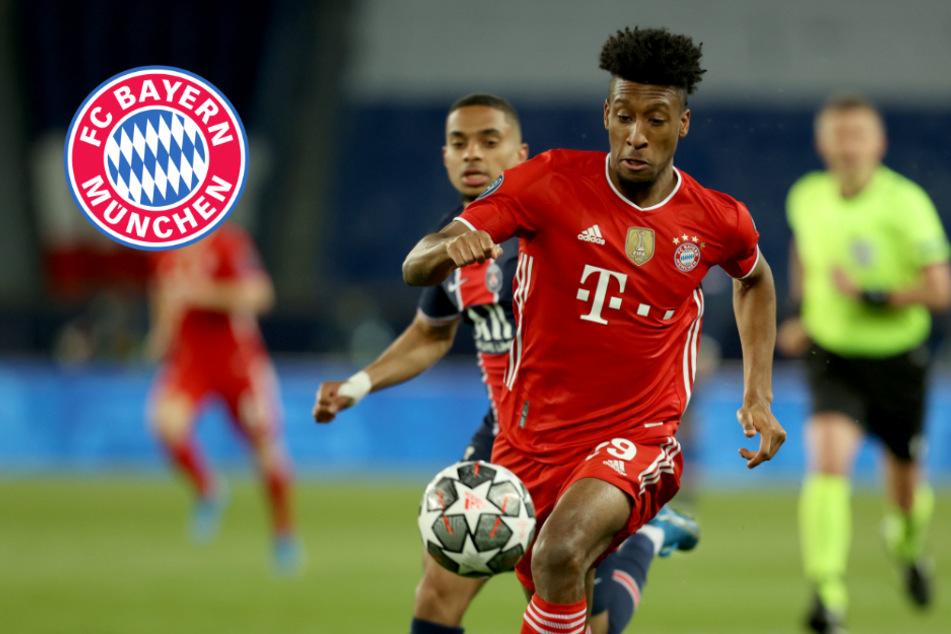 Dicke Luft beim FC Bayern! Vertragsgespräche mit Coman abgebrochen