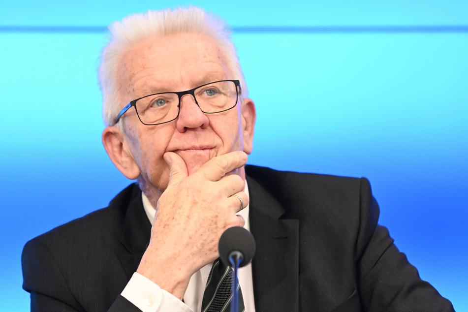 Ministerpräsident Winfried Kretschmann (73, Grüne).