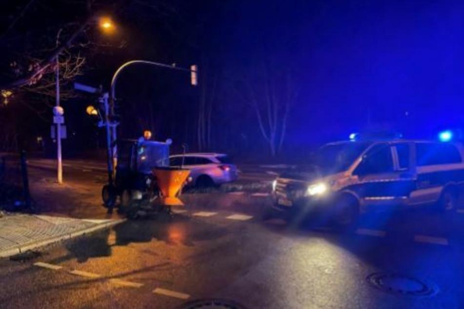 Kuriose Verfolgungsjagd: Täter flüchtet erfolgreich mit 15 km/h vor der Polizei
