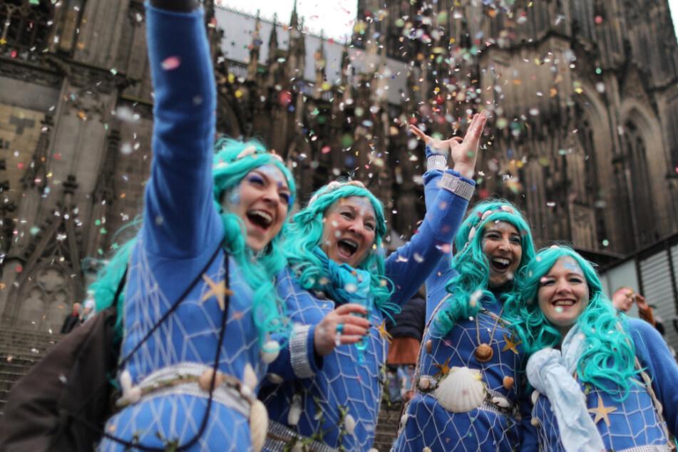Beginn des Kölner Straßenkarnevals im Februar 2020. (Archivfoto)