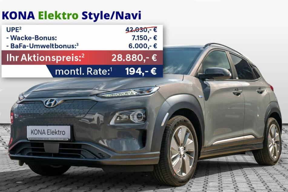 Hyundai KONA Elektro Style/Navi