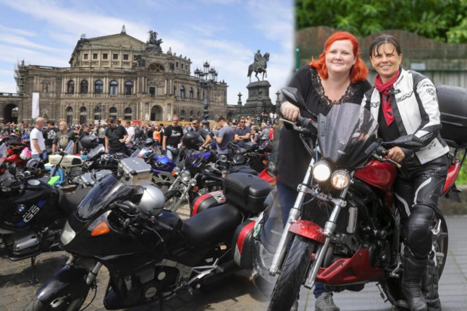 Abgefahren! Mutti und Tochter organisieren Sachsens Biker-Demos