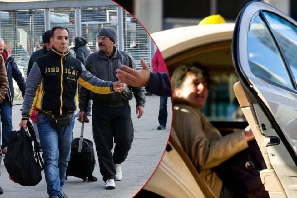Sachsens Seniorenbund sauer über Taxifahrten für Asylbewerber